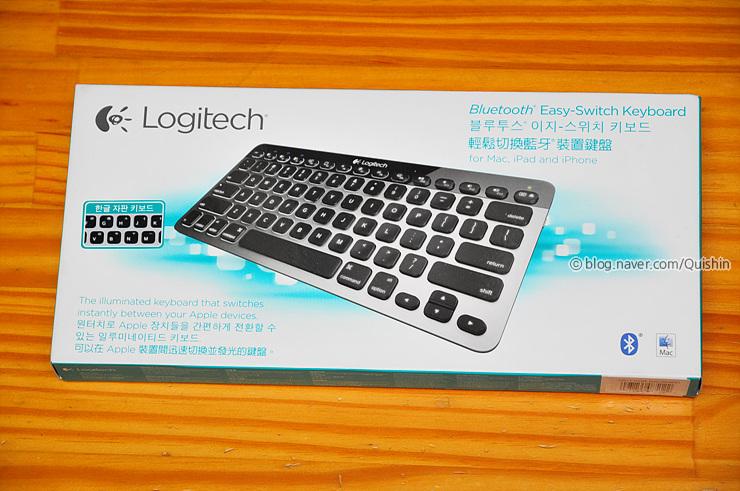 로지텍 K811 이지 스위치 블루투스 키보드 (Logitech Easy
