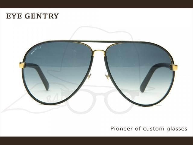 1d4d2977bbc GG 2887s는 레더 에비에이터 선글라스. (Leather Aviator Sunglasses)로써