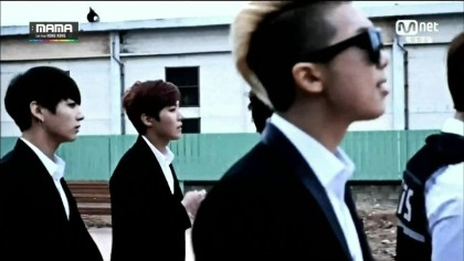 영상+캡쳐] 141203 MAMA 방탄소년단(BTS) vs 블락비(Block B)+