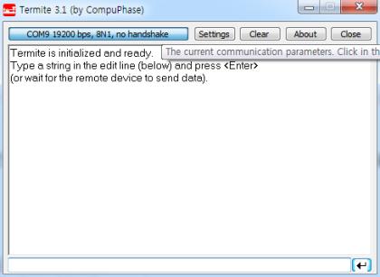 UART Serial 통신 기본 예제 : 네이버 블로그
