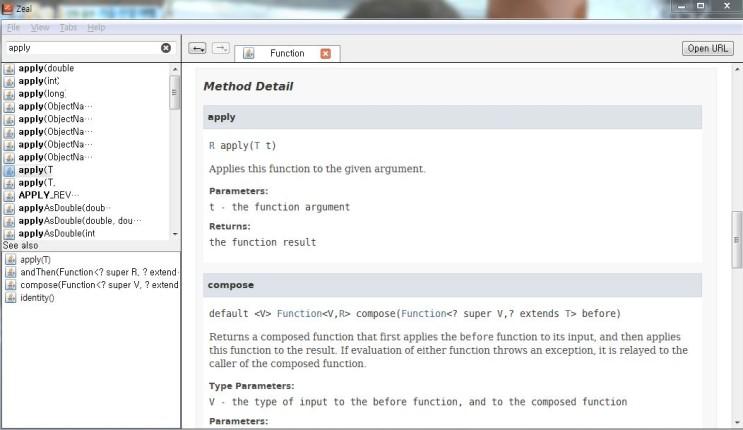 개발시간 단축을 위한 문서모음 툴(DevDocs, Dash, Zeal