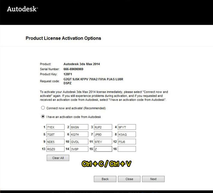 3d max 2014 serial number