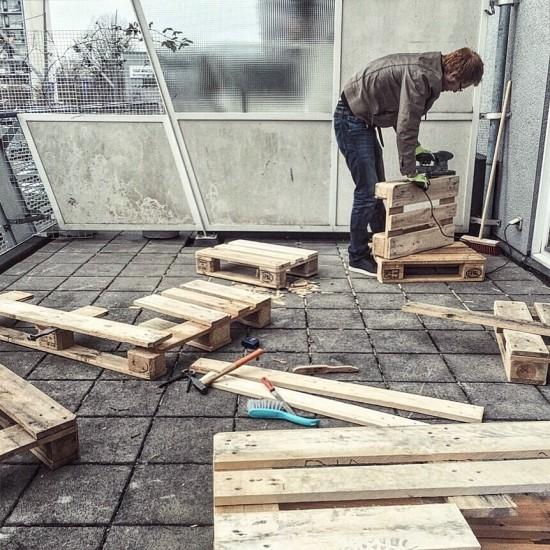 DIY 팔레트 침대 : 네이버 블로그