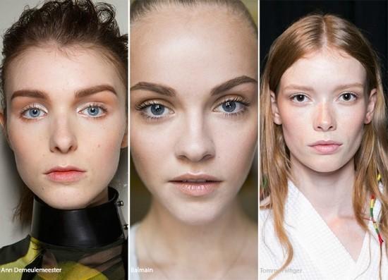 natural glow make up trends 2017