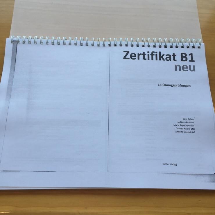 독일어 교재 Zertifikat B1 Neu 15 übungsprüfungen Zd B1 시험 대비