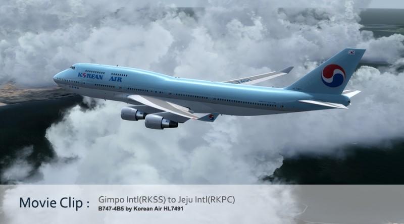 P3Dv4] PMDG 747-400 by Korean Air HL7491 : 네이버 블로그