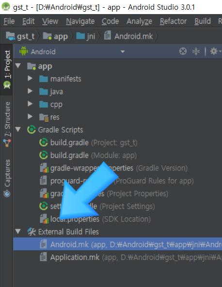GStreamer 안드로이드 프로젝트 만들기 - 윈도 OS 기준 : 네이버