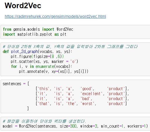 Graph Word2vec