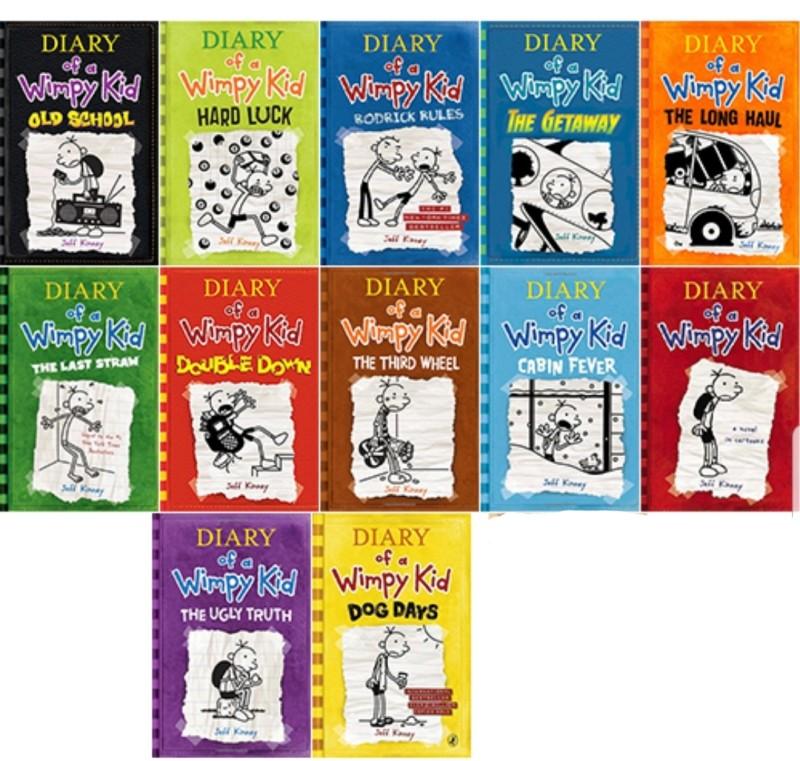 Diary Of A Wimpy Kid 시리즈 Internet Archive Ebook 네이버 블로그