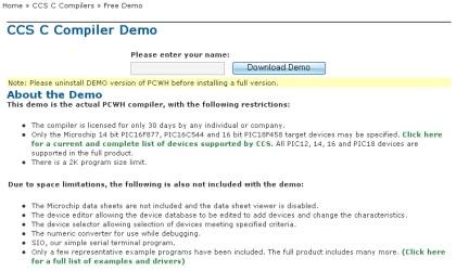 PIC C 컴파일러 CCS-C 데모 : 네이버 블로그